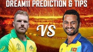 Dream11 Team Sri Lanka vs Australia ICC Cricket World Cup 2019 - Cricket Prediction Tips For Today's World Cup Match SL vs AUS at Kennington Oval, London