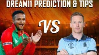 Dream11 Team England vs Bangladesh ICC Cricket World Cup 2019 - Cricket Prediction Tips For Today's World Cup Match ENG vs BAN at Sophia Gardens, Cardiff