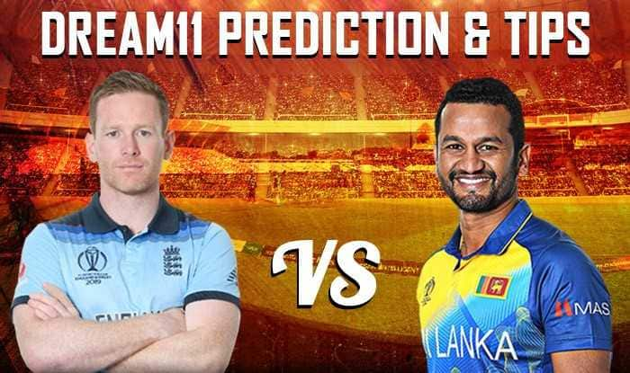Dream11 Team Prediction England vs Sri Lanka ICC Cricket World Cup 2019 - Cricket Prediction Tips For Today's World Cup Match ENG vs SL at Headingley, Leeds