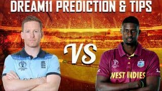 Dream11 Team England vs West Indies ICC Cricket World Cup 2019 - Cricket Prediction Tips For Today's World Cup Match at The Rose Bowl Southampton