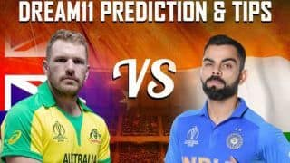 Dream11 Team India vs Australia ICC Cricket World Cup 2019 - Cricket Prediction Tips For Today's World Cup Match at Kennington Oval, London