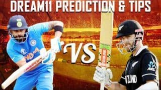 Dream11 Team India vs New Zealand ICC Cricket World Cup 2019 - Cricket Prediction Tips For Today's World Cup Match IND vs NZ at Trent Bridge, Nottingham