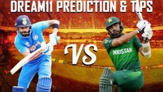 Dream11 Team India vs Pakistan ICC Cricket World Cup 2019 - Cricket Prediction Tips For Today's World Cup Match IND vs PAK at Emirates Old Trafford, Manchester
