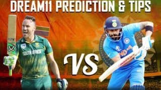 Dream11 Team India vs South Africa ICC Cricket World Cup 2019 - Cricket Prediction Tips For Today's Match IND vs SA at The Rose Bowl, Southampton