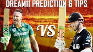Dream11 Team Prediction New Zealand vs South Africa ICC Cricket World Cup 2019 - Cricket Prediction Tips For Today's World Cup Match NZ vs SA at Edgbaston, Birmingham