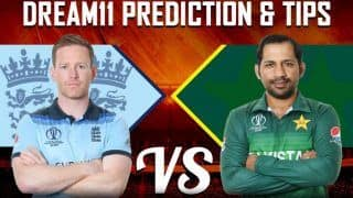 Dream11 Prediction England vs Pakistan ICC Cricket World Cup 2019, Match 6 Team Best Players to Pick for Today's Match Between ENG vs PAK at 3 PM, Trent Bridge, Nottingham