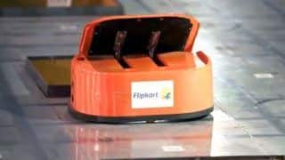 Flipkart Uses About 100 Robots to Sort Out Parcels Automatically