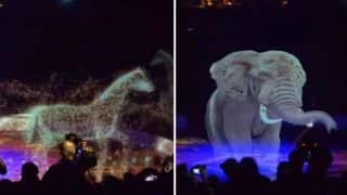 German Circus Uses Magnificent 3D Hologram Instead of Animals to Perform Acts, Video Goes Viral