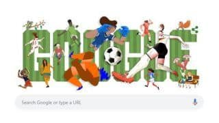 Google Celebrates Commencement of 2019 FIFA Women's World Cup With Doodle