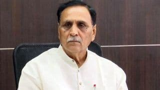 Day After Collapsing on Stage, Gujarat CM Vijay Rupani Tests Positive for COVID-19