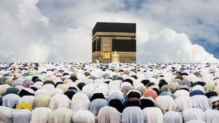 Haj Committee of India Organizes Flagging-off Ceremony For Pilgrims
