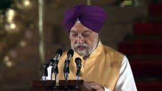 Hardeep Singh Puri Takes Charge as Civil Aviation Minister in Modi Govt
