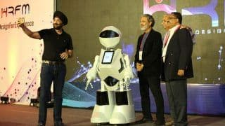 Tech Mahindra Ltd Introduces First Human Resource Humanoid K2 in Noida