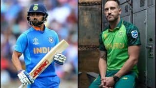 ICC Cricket World Cup 2019: Key Players To Watch Out For In CWC Clash Between India and South Africa