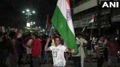Video: विश्व कप में पाकिस्तान पर जीत का देशभर में मना जश्न, तिरंगा झंडा के साथ निकला जुलूस