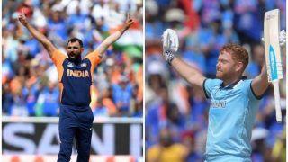 ICC World Cup 2019: इंग्लैंड ने टीम इंडिया को दिया 338 का लक्ष्य, शमी का शानदार 'पंच'