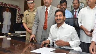 Andhra Pradesh: Jagan Mohan Reddy Assumes Charge of His Office