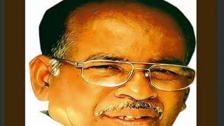 Former Puducherry CM RV Janakirama Dies After Prolonged Illness
