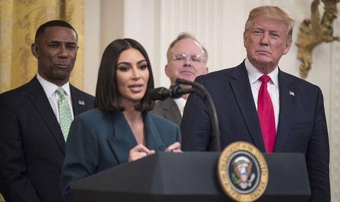 Kim Kardashian West Visits White House to Help Former Inmates Get Jobs