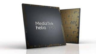 MediaTek Helio P65 octa-core processor launched with support for 48-megapixel camera