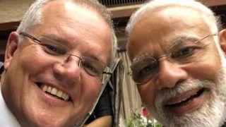 """जी-20 समिट में पीएम मोदी से मिले ऑस्ट्रेलियाई प्रधानमंत्री, सेल्फी लेकर किया ट्वीट- """"कितने अच्छे हैं मोदी"""""""