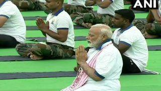 अमित शाह ने योग को विश्व के सामने ले जाने का श्रेय प्रधानमंत्री मोदी को दिया
