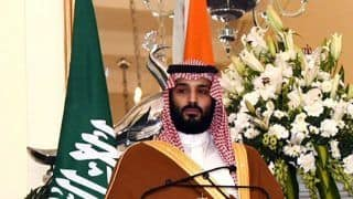 Saudi Arabia Wants no War, But Stands Firm Against Threat: Crown Prince