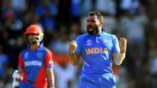 ICC Cricket World Cup 2019 Match 28 Report: Virat Kohli, Mohammed Shami, Jasprit Bumrah Shine as India Edge Afghanistan by 11 Runs in Thriller at Rose Bowl, Southampton