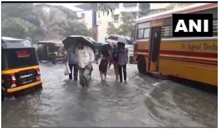 Mumbai Rains: Waterlogging Witnessed in City, Intense Spell