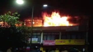 Uttar Pradesh: Fire Doused at Commercial Building in Sector 51 Noida, no Injuries Reported