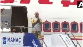 SCO देशों के साथ भारत के संबंध मजबूत करने के लिए बिश्केक पहुंचे पीएम मोदी, देखें VIDEO
