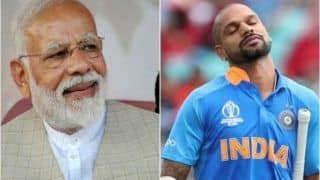 'No Doubt Pitch Will Miss You': PM Narendra Modi Wishes Dhawan Speedy Recovery