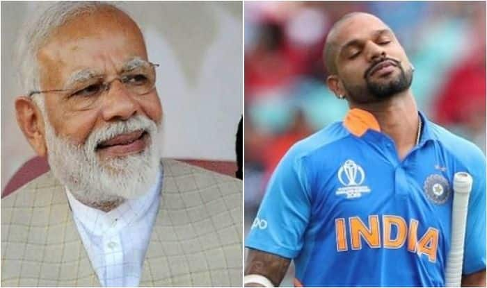 PM Narendra Modi Wishes Shikhar Dhawan Speedy Recovery For His Injury During ICC Cricket World Cup 2019, Says Pitch Will Miss You