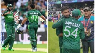 ICC World Cup 2019: इमाद ने दिलाई पाक को रोमांचक जीत, सेमीफाइनल की उम्मीद कायम