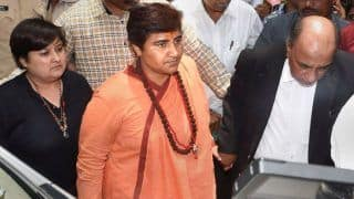 Pragya Singh Thakur Finds Courtroom Too Dirty to Sit in, Refuses Chair Judge Offered