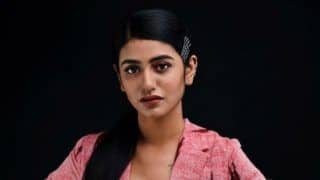Malayalam Hottie Priya Prakash Varrier Dons Pantsuit Like a Boss Lady And it Will Give You Cue For Office Wears