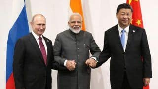 Modi Discusses Counter-Terror, Climate Change With Putin, Jinping in Osaka