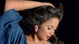 Bhojpuri Hottie Rani Chatterjee Oozes Oomph in Blue Dress as She Strikes a Sultry Pose