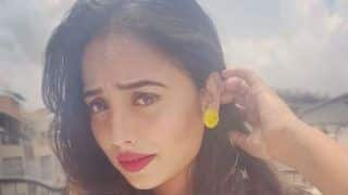 Bhojpuri Sizzler Rani Chatterjee Looks Smoking Hot in Black Swimwear And Wet Hair in Her Latest Slow-mo Video