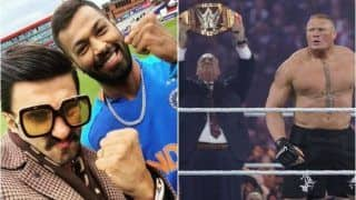 Ranveer Singh Receives Litigation Warning From WWE Star Brock Lesnar's Manager Paul Heyman Over Copyright Issue on His Tweet With Hardik Pandya During ICC Cricket World Cup 2019 | POSTS