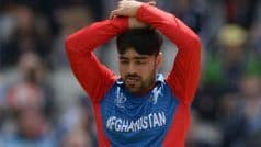 विश्वकप के सबसे महंगे गेंदबाज बने राशिद खान, 9 ओवरों में दे डाले इतने रन