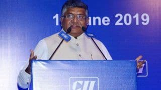 Personal Data Protection Bill Finalised: IT Minister Ravi Shankar Prasad