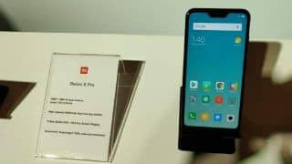 Xiaomi's Redmi 6 Pro Gets Android 9 Pie Update in India