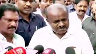 Worked Like Slave For MLAs, Congress, Happiest Person to Vacate Office of CM: HD Kumaraswamy