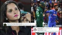 भारत-पाक मैचः बेवजह ट्रोल हो गईं सानिया मिर्जा, पति शोएब मलिक के जीरो पर आउट होने को लेकर इंटरनेट यूजर्स ने साधा निशाना