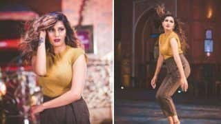 Haryanvi Hot Dancer Sapna Choudhary Glams it up in Yellow Top And High Waist Pant in Her Latest Photoshoot