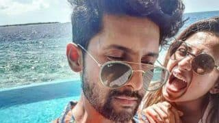 Punjabi Hottie Sargun Mehta Flaunts Her Washboard Abs in Sexy Blue Bikini as She Vacays in Maldives With Hubby Ravi Dubey