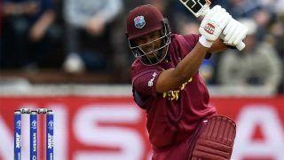 WIvsBAN: वेस्टइंडीज ने दिया 322 रन का लक्ष्य, शतक से चूके शाई होप