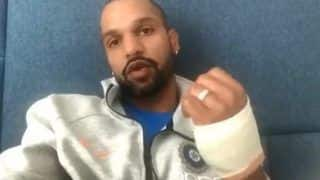 Shikhar Dhawan Posts Emotional Message on Twitter After Being Ruled Out of ICC Cricket World Cup 2019, Says 'Show Must Go On' | WATCH VIDEO