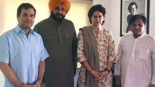 Amid Tussle With Punjab CM, Navjot Singh Sidhu Meets Rahul, Apprises Him of 'Situation'